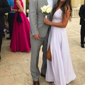 Lovers Friends Dresses Lovers Friends Leah Gown In Lavender
